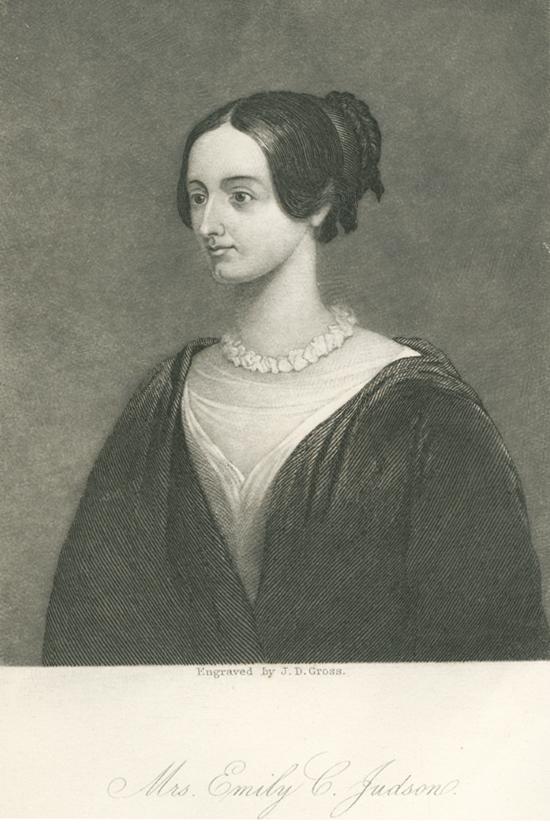 EMILY C. JUDSON (1817 – 1854)