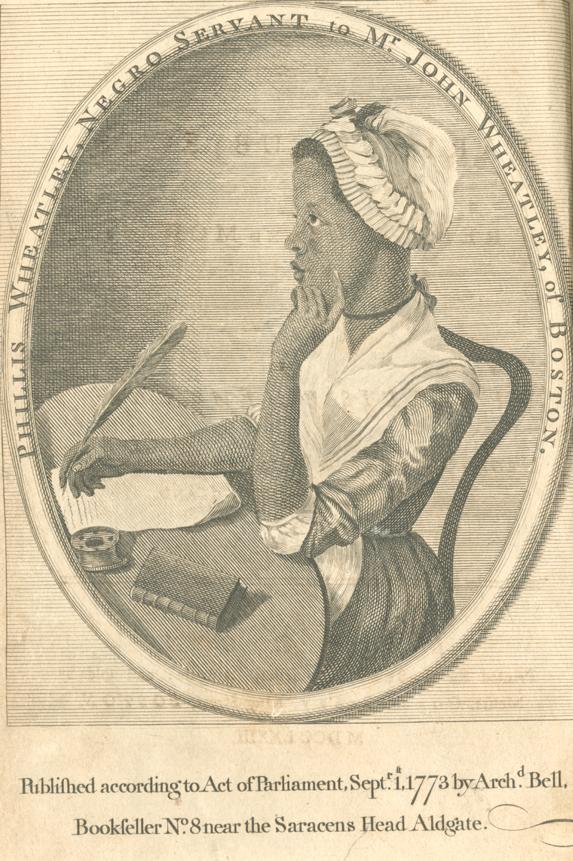Phillis Wheatley Ca 1753 1784