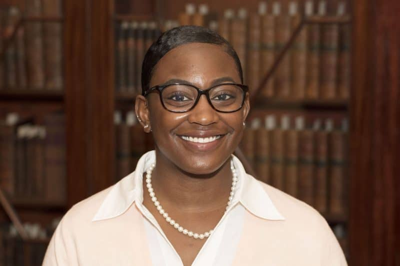 Jasmine Smith, African American History Subject Specialist and Reference Librarian