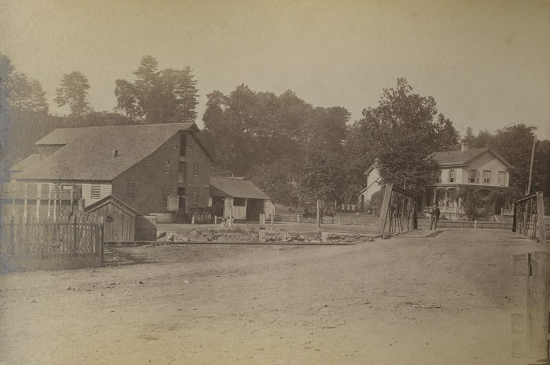 Henry N. Schooley residence and mill, Luzerne, Pa., ca. 1888