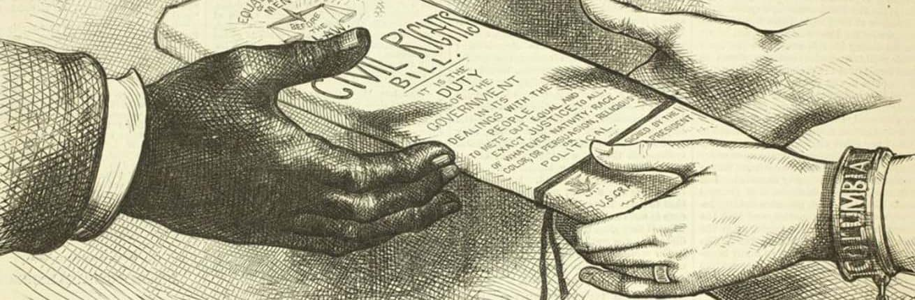 """To Thine Own Self Be True."" Harper's Weekly (April 24, 1875)."
