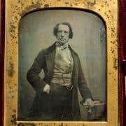 Antoine Claudet, Mr. Charles Dickens (London, ca. 1852). Daguerreotype.