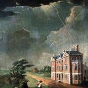 [Jacob Duché's Mansion (3rd & Pine Streets)], ca. 1760. Oil on canvas.