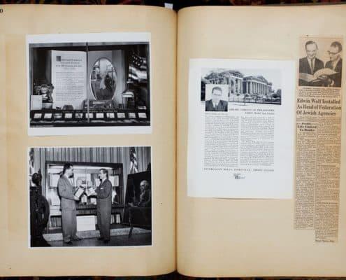 Library Company of Philadelphia Scrapbook