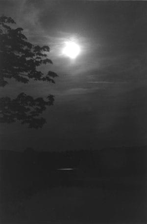 Moon Somes Pond 2, artwork by Anne Wetzel.