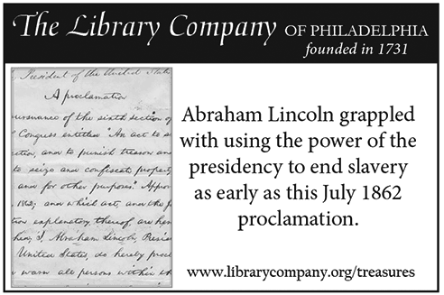 Abraham Lincoln grappled with using the power of the presidency to end slavery as early as this July 1862 proclamation.