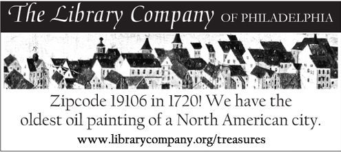 Zipcode 19106 in 1720! We have the oldest oil painting of a North American city.