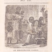 The Slave's Friend (New York: American Anti-slavery Society by R.G. Williams, 1836), vol. 1, no. 12. Periodical cover illustration, wood engraving.