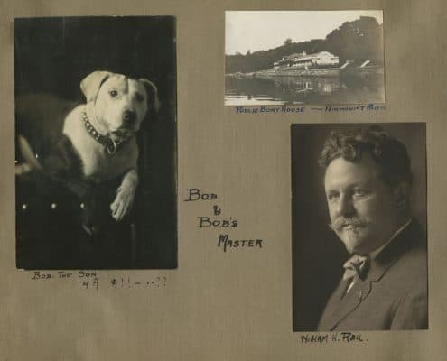 Page from Carson R. Draucker photograph album. Gelatin silver photographs, ca. 1912.