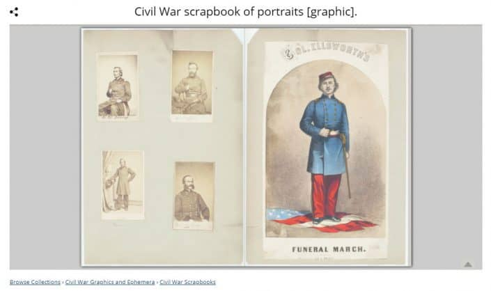 Digitization at LCP: Civil War Ephemera 2