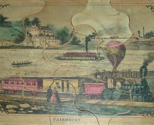 Fairmount, (Philadelphia: Thomas S. Wagner's Lith., 38 Franklin Place, ca. 1859).