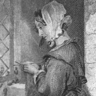 Link to Exhibit, The Hook and the Book: The Emergence of Crochet and Knitting in Early American Popular Culture