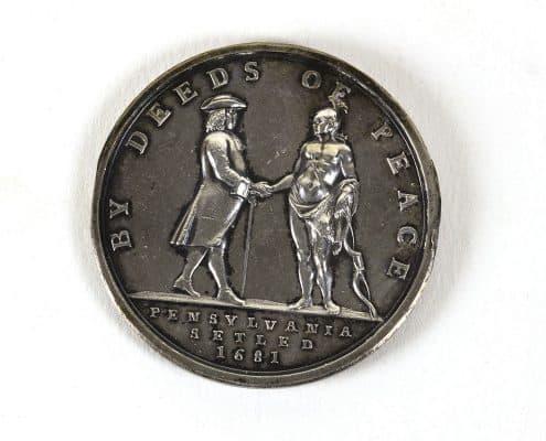 OBJ 903 verso. Reverse of the medal.