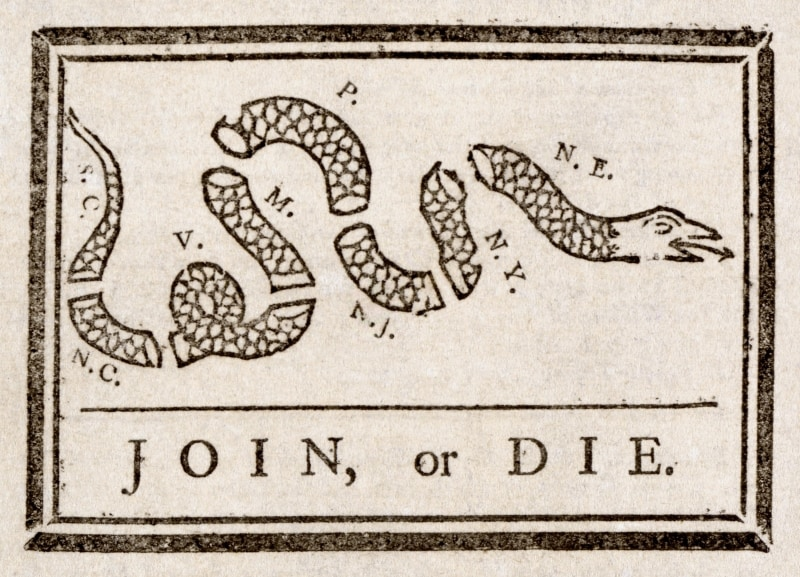 Collection Review: The Birth of the American Political Cartoon, 1754 - 1776 @ The Library Company of Philadelphia | Philadelphia | PA | US