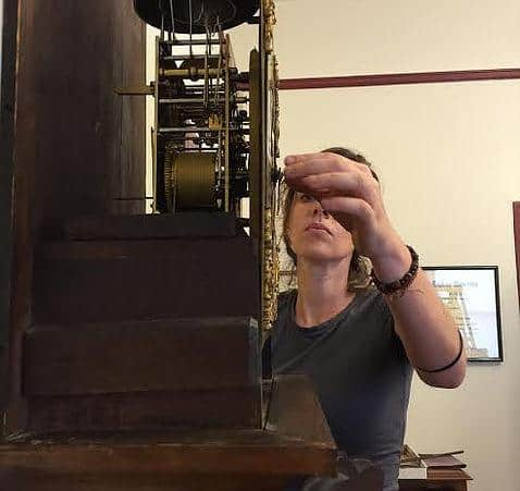 Saving Time: Restoration of a Rare Christopher Souers Clock @ The Library Company of Philadelphia | Philadelphia | PA | US