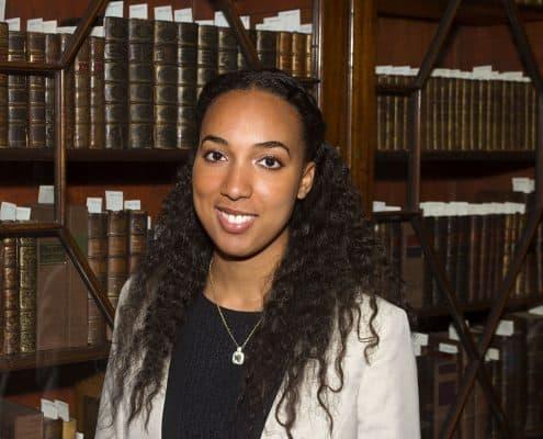 Mellon Scholar Ashley Dennis