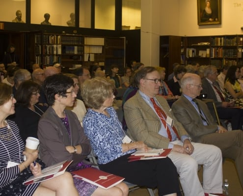 Attendees at William Birch and the Complexities of American Visual Culture symposium, October 5, 2018.