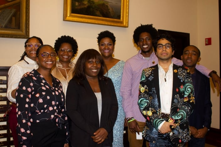 Student Curators and Program in African American History Staff