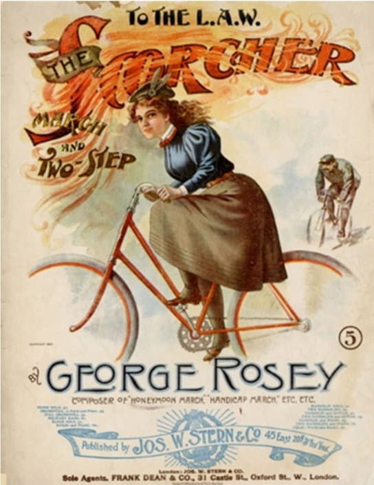 Scorcher Sheet Music Cover Image