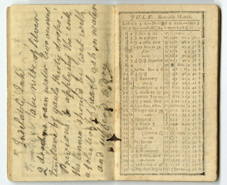 Journal from July 1811