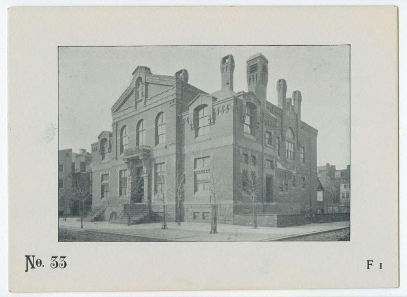 The Game of Philadelphia Buildings Card #33