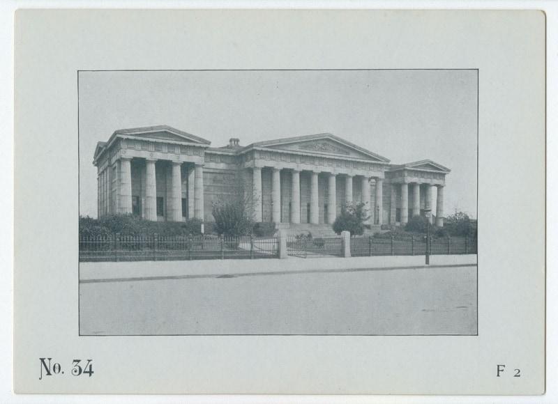 The Game of Philadelphia Buildings Card #34