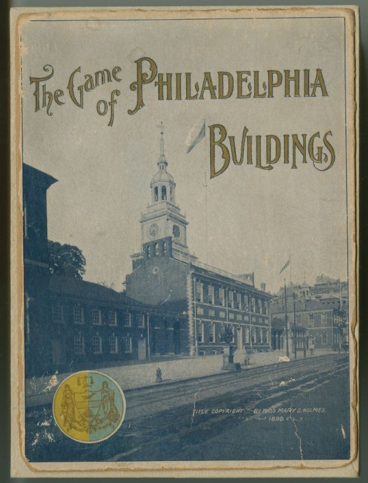 The Game of Philadelphia Buildings Cover