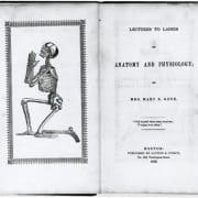 Mary Sargeant Gove Nichols, Lectures to Ladies on Anatomy and Physiology (Boston: Saxton & Peirce, 1842). Frontispiece.