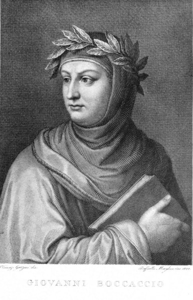 Portrait of Boccaccio by Morghen
