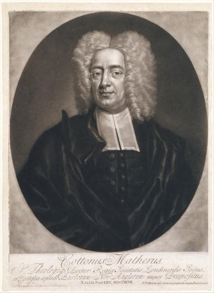 Portrait of Cotton Mather, 1728