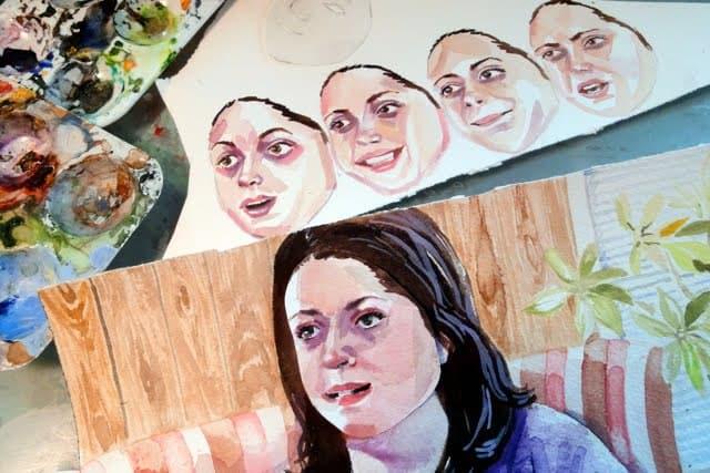 Animation work in progress, Jennifer Levonian