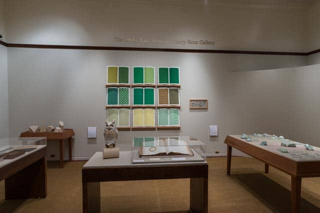 View of exhibition gallery. Photo by Gary McKinnis.