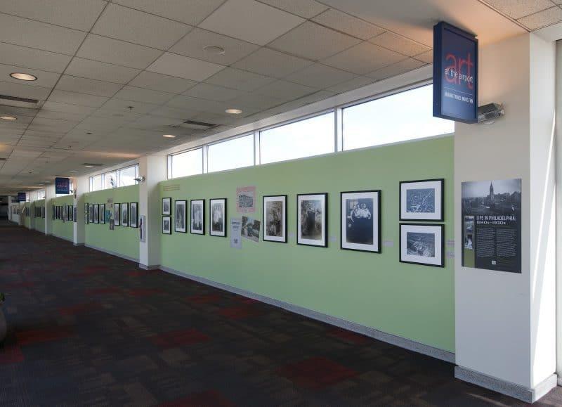 Exhibition in the Philadelphia Airport.