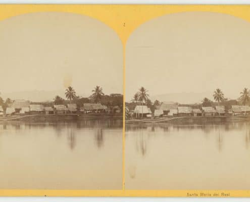 Timothy O'Sullivan, Santa Maria del Real, from Tropical Scenery. Darien Expedition. Comd'r Selfridge, Comd'g. (Washington, D.C.: J.F. Jarvis, 1870 or 1871).