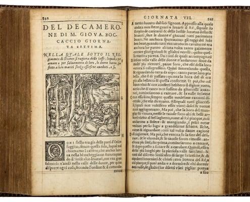 1555 Lyon edition of the Decameron