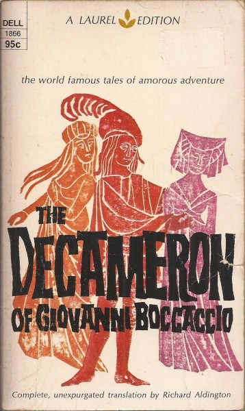 Cover of 1960's Laurel Edition of Baccaccio's Decameron