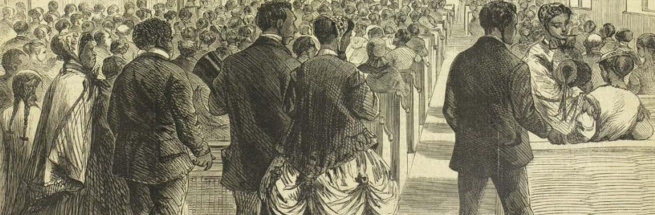 """The National Colored Convention in Session at Washington, DC."" Harper's Weekly (February 6, 1869)."