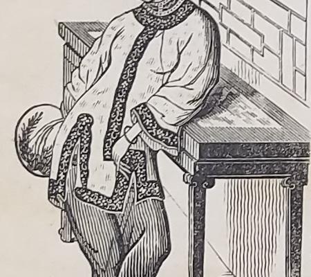 Advertising broadside. The Chinese Lady, Afong Moy. Philadelphia: Jesper Harding, 1835. Detail.