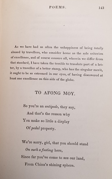 John Kearsley Mitchell. Indecision: A Tale of the Far West and Other Poems. Philadelphia: E.L. Carey & A. Hart, 1839.