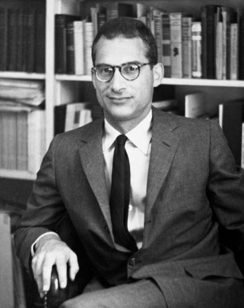 Edwin Wolf 2nd in 1952, shortly before he began his long career at the Library Company.