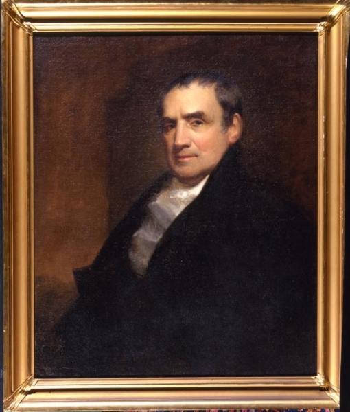 John Neagle, Oil portrait of Mathew Carey, 1825.