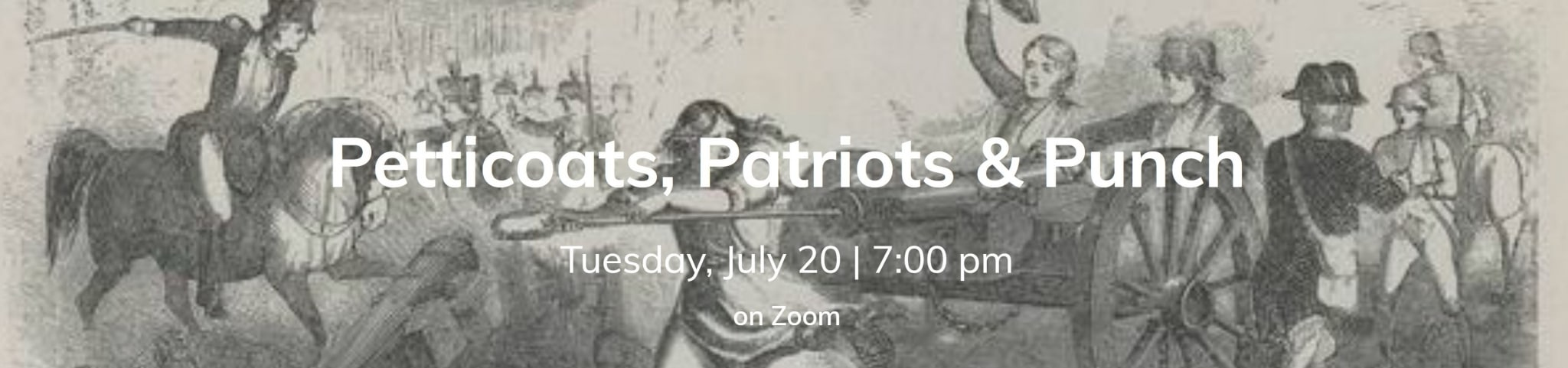 July 20th Historical Happy Hour