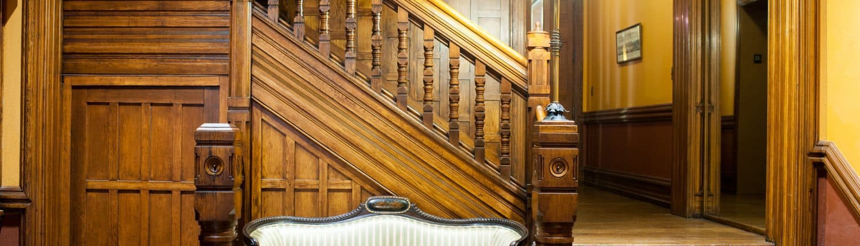 Cassatt House stairwell.
