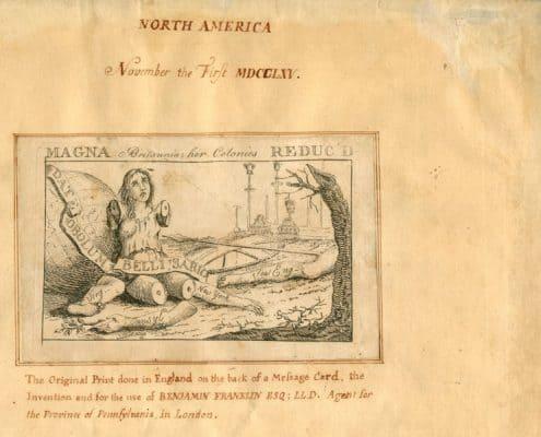 Magna Britannia- Her Colonies Reduc'd.