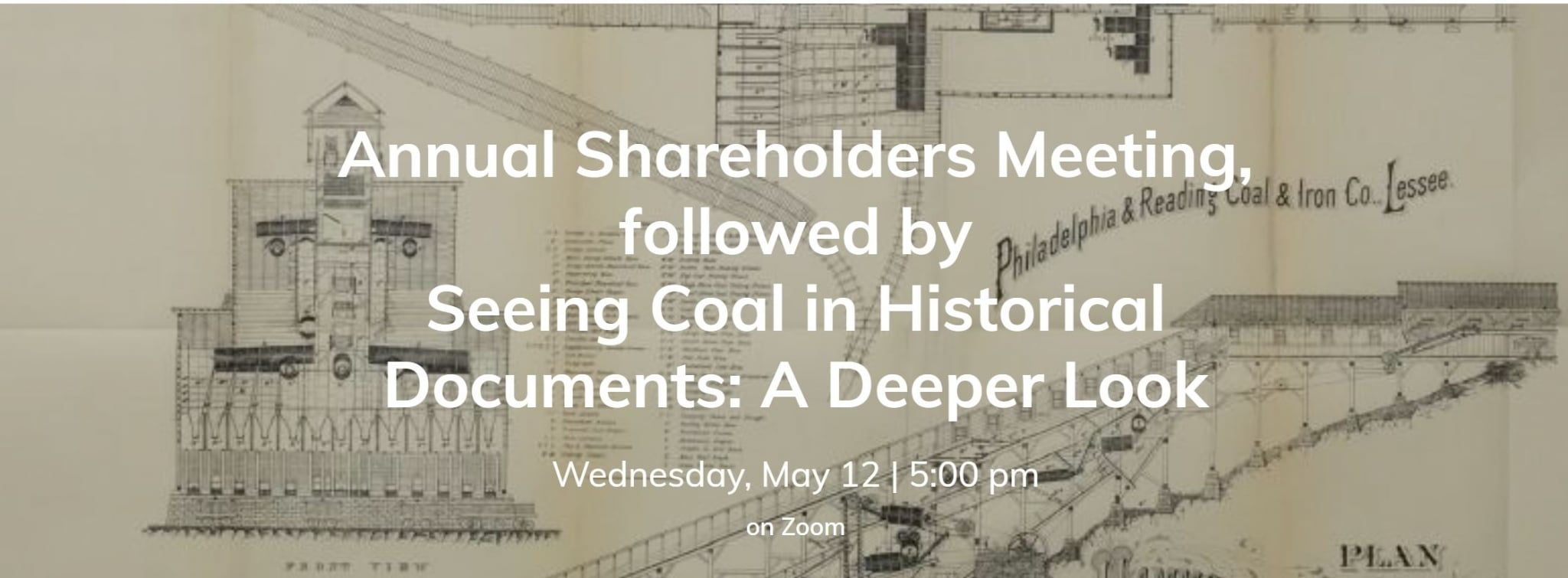 May 12th Annual Shareholder Meeting