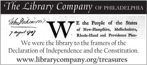 We were the library to the framers of the Declaration of Independence and the Constitution.