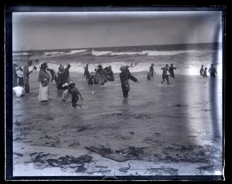 People in bathing, Ocean Day, [Sea Girt, NJ] [graphic].