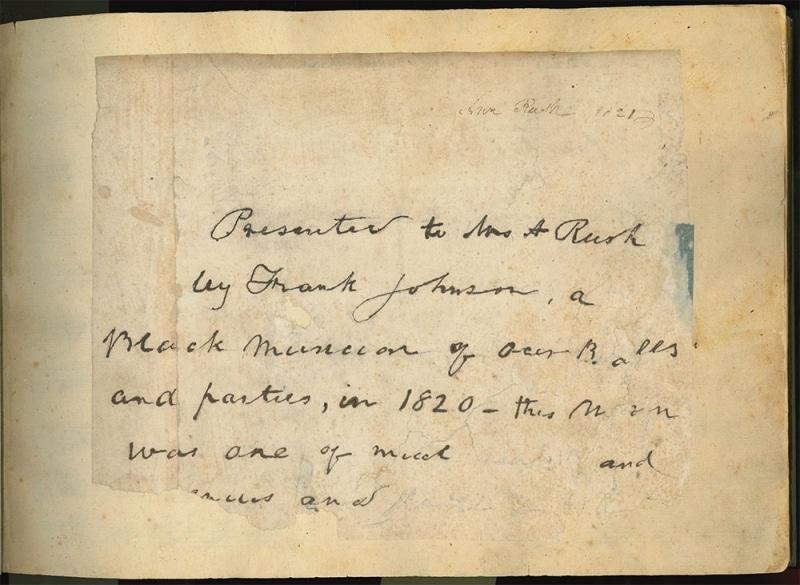 Manuscript by Phoebe Rush