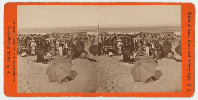 Gustavus Pach, Views of Ocean Grove, New Jersey, ca. 1877