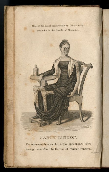 Swaim, Wm. (William). Cases of cures performed by the use of Swaim's panacea. Philadelphia : [s.n.], 1829.